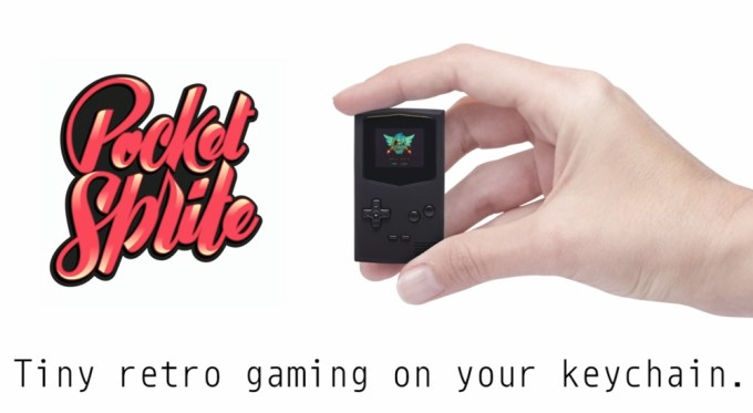 PocketSprite - Game Boy w formie breloka