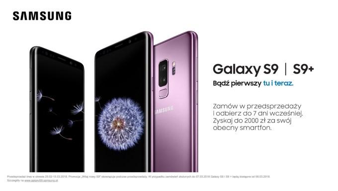 Samsung Galaxy S9 i S9+ w przedsprzedaży