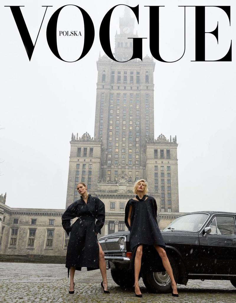 Okładka Vogue Polska nr 1.