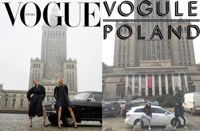 Vogue Polska vs. Vogule Polska