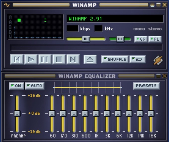 Winamp 2.91 (screen)