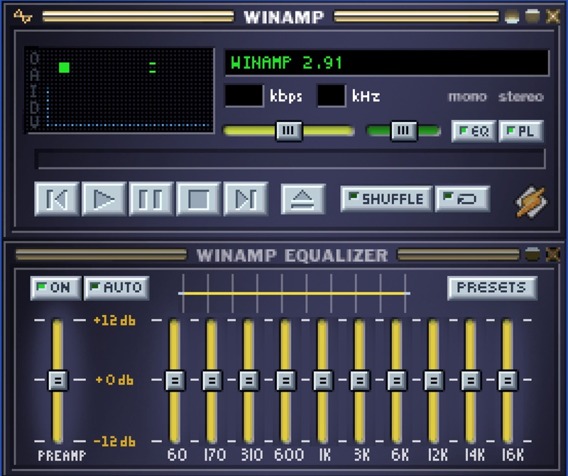 Winamp 2.91 (screen)