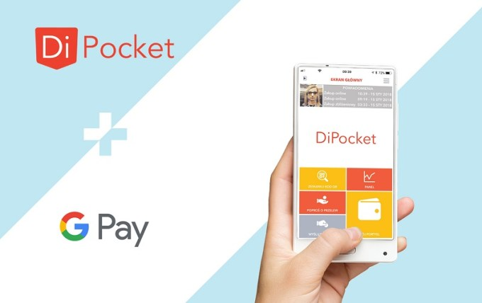 Google Pay w DiPOcket