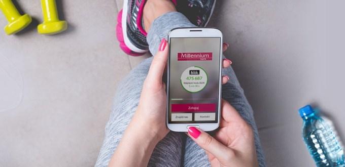 Wpłaty za pomoca BLIKA w aplikacji mobilnej Banku Millennium