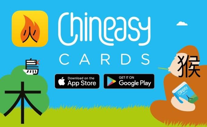 Chineasy Cards - aplikacja mobilna do nauki języka chińskiego