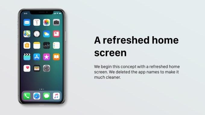 Odświeżony widok ekranu głównego (Home Screen)