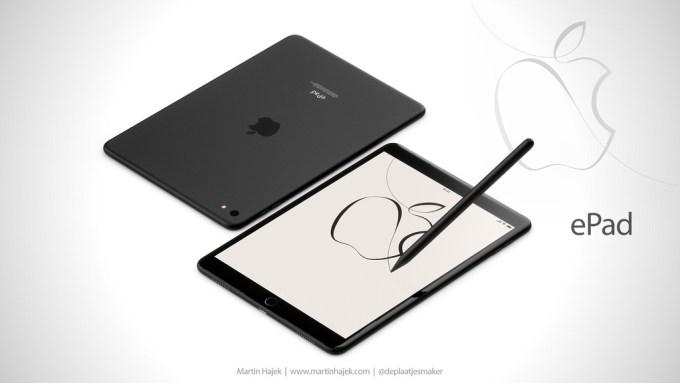 ePad - iPad dla sektora edukacji (koncept by Martin Hajek)