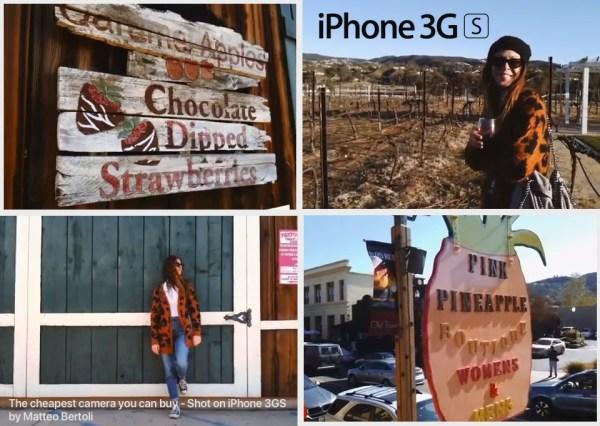 Wideo nakręcone iPhonem 3GS wygląda porywająco