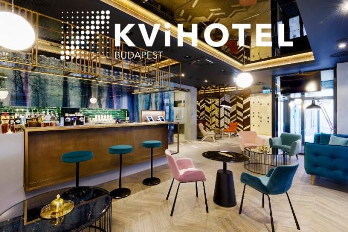 KVIHotel - hotel w Budapeszcie zarządzany przez aplikację mobilną (lobby)