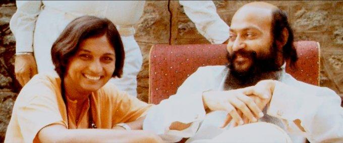 Ma Anand Sheela i Bhagwan Shree Rajneesh