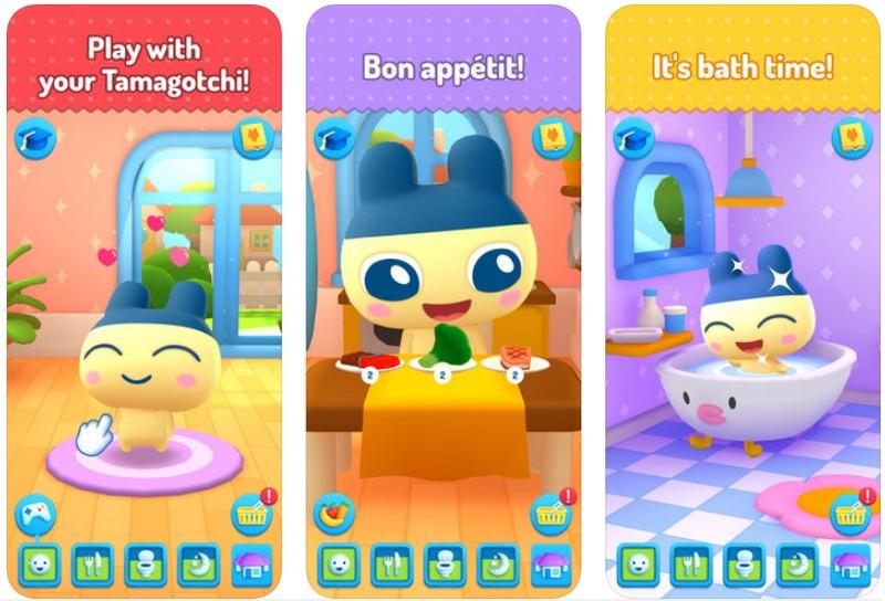My Tamagotchi Forever - aplikacja mobilna - screen