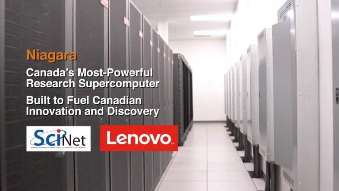 Niagara (SciNet, Lenovo) - kanadyjski superkomputer naukowy