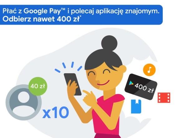 Google przedłuża dwie promocje Google Pay