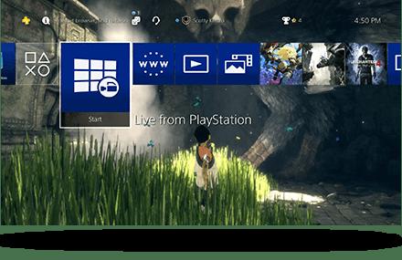 PS4 - oprogramowanie 5.50 (personalizacja)