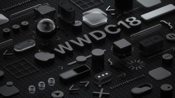 Tapeta WWDC18 (czarna by Martin Hajek