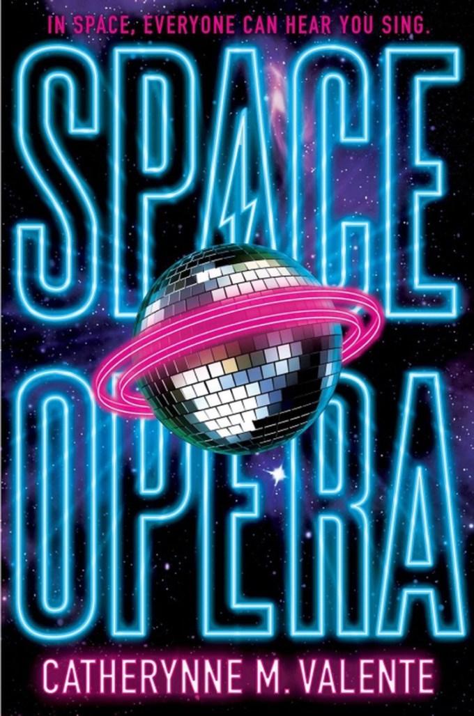 """Okładka książki """"Space Opera"""""""
