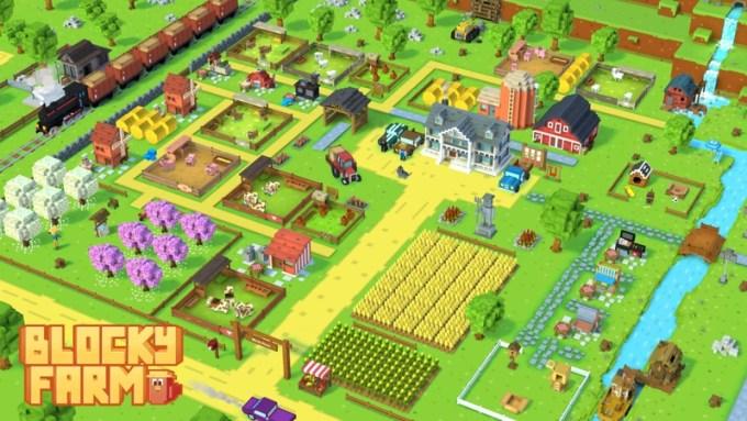 Screen z gry Blocky Farm