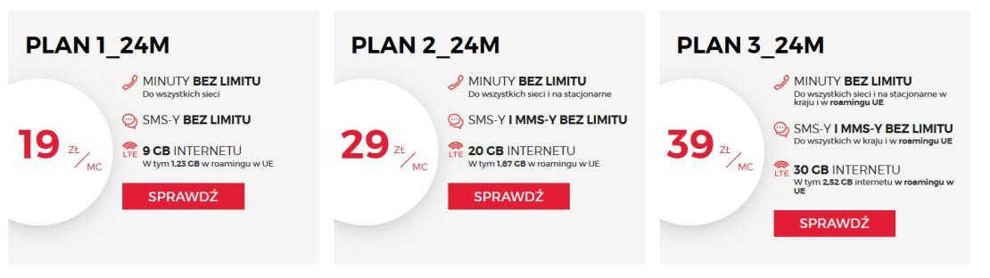 plany Gigadaje Virgin Mobile