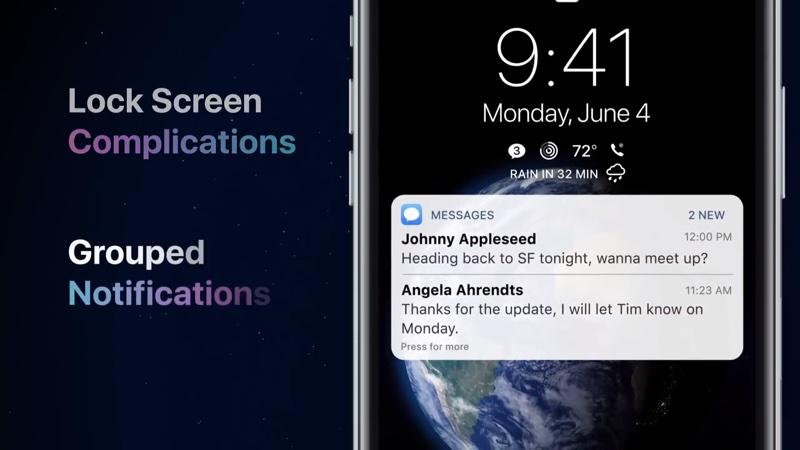 Koncepcja systemu iOS 12