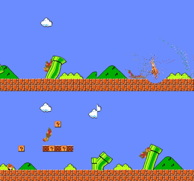 Screeny z gry Jelly Mario Bros.