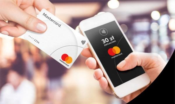 Płatności zbliżeniowe kartami Mastercard do 100 zł bez PIN-u