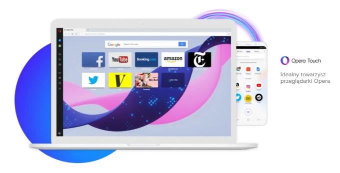Opera Touch (przeglądarka mobilna)