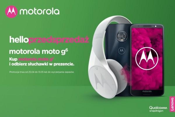 Rusza przedsprzedaż nowego smartfonamotorola moto g⁶