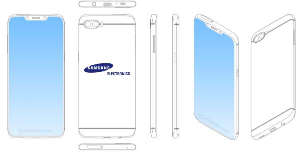 Samsung opatentował swojego pierwszego klona iPhone'a X
