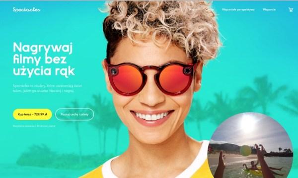 Nowe ulepszone okulary Spectacles 2 od Snapchata