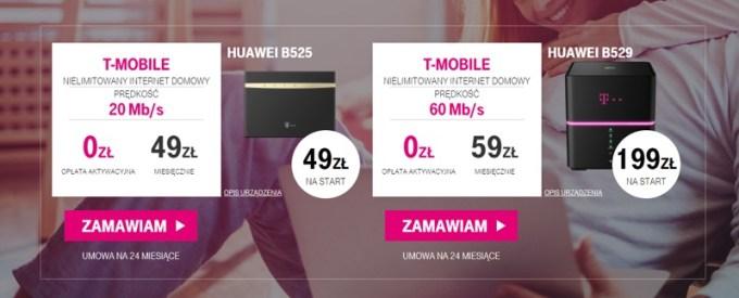 Nielimitowany internet domowy od T-Mobile w zestawie z konsolą PS4