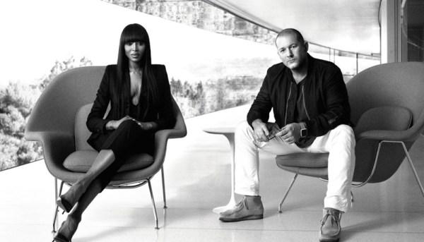 Jony Ive opowiada o sekretnej wystawie w rozmowie z Naomi Campbell