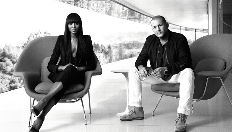 Jony Ive i Naomi Campbell (wywiad dla Vogue)