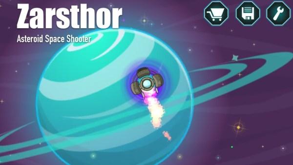 """""""Zarsthor"""" asteroidy i kosmiczna strzelanka na Androida"""