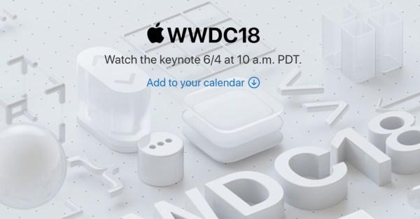 Apple będzie transmitować na żywo konferencję WWDC 2018