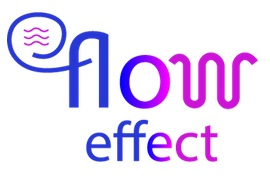flow effect (logo)