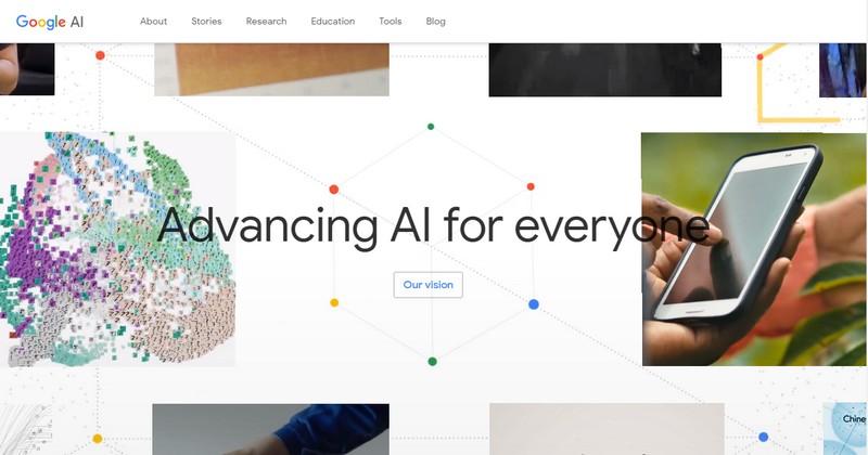 Zrzut ekranu strony Google.ai