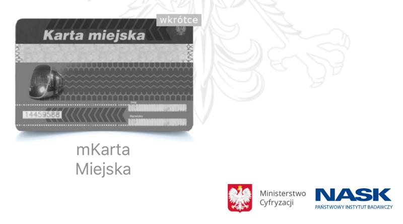 Karta miejska w aplikacji rządowej mDokumenty