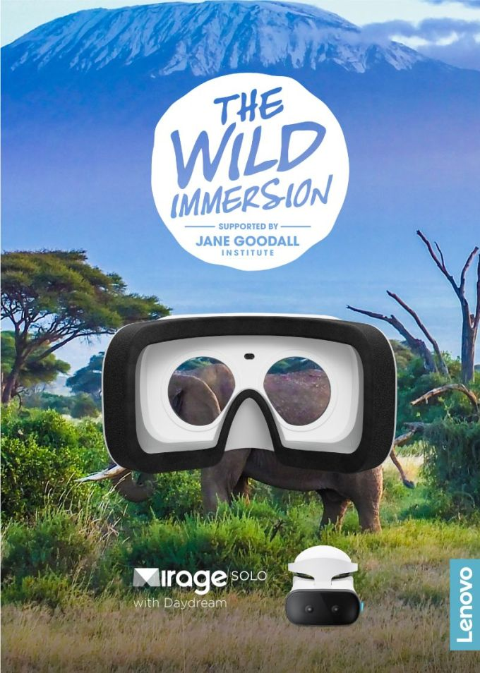 The Wild Immersion i Lenovo Mirage™ Solo VR