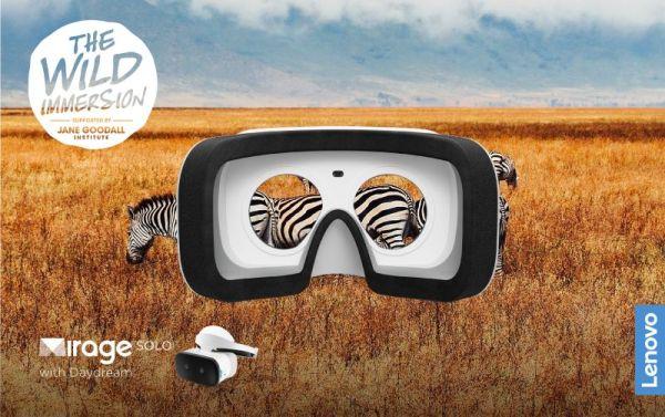 The Wild Immersion i Lenovo Mirage™ Solo VR: planeta to więcej niż statystyki