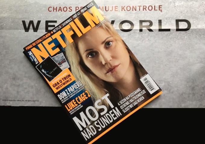"""Drugi numer magazynu """"Netfilm"""" + plakat Westworld"""