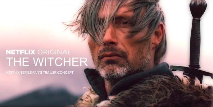 "Koncepcja trailera serialu oryginalnego Netflixa pt. ""The Witcher"""
