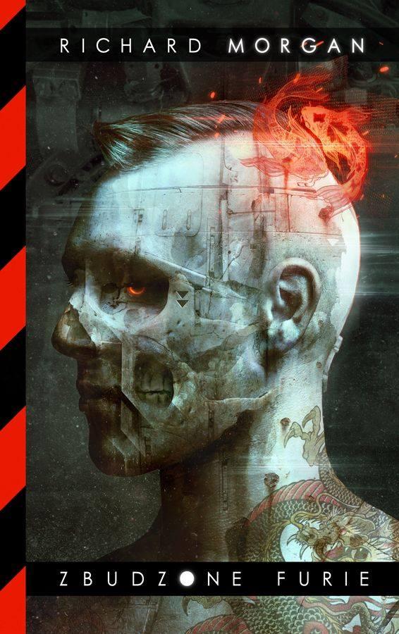 """Okładka książki """"Zbudzone furie"""" Richarda K. Morgana (fot. Dark Crayon)"""