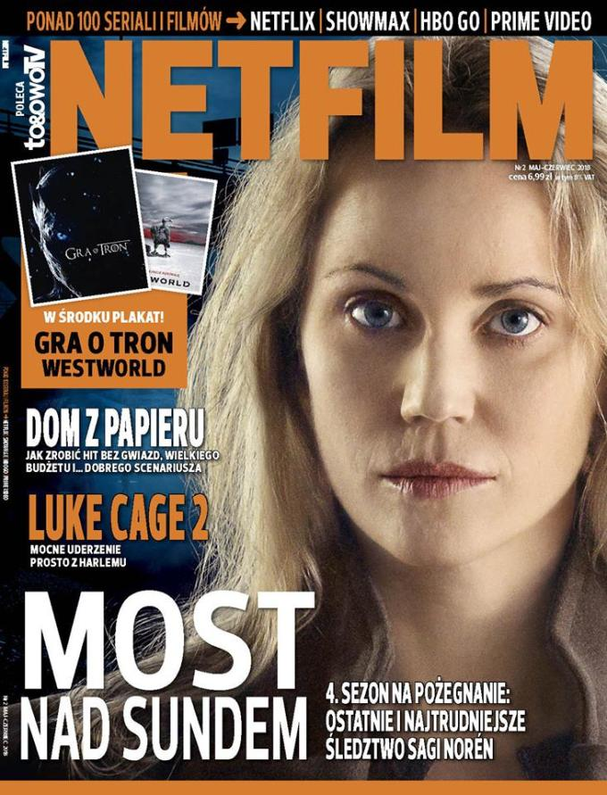 Okładka 2. numeru magazynu Netfilm (maj-czerwiec 2018)