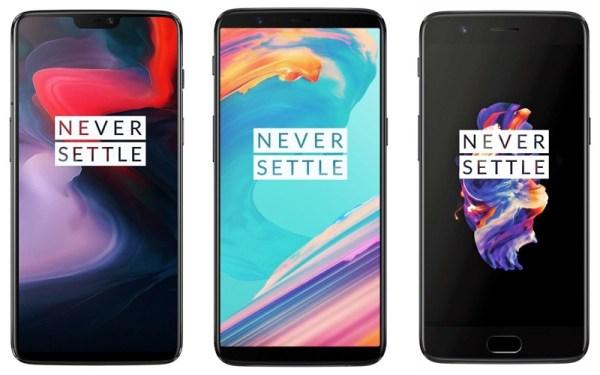 OnePlus 6 vs. OnePlus 5T i OnePlus 5. Co się zmieniło?