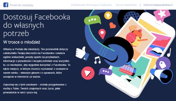 Facebook uruchamia Portal dla młodzieży, w trosce o ich prywatność