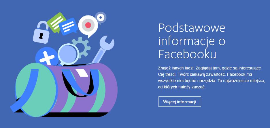 Podstawowe informacje o Facebooku na Portalu dla młodzieży