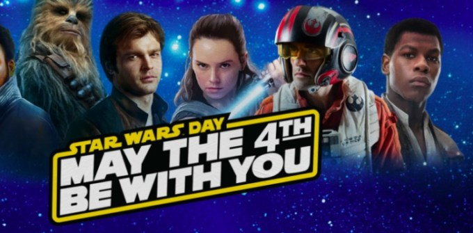 Star Wars day - May the 4th be with you