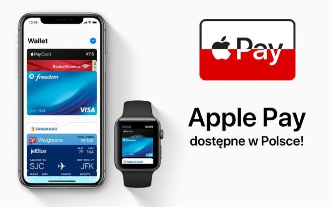 Apple Pay dostępne w Polsce!