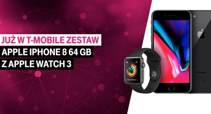 Apple Watch Series 3 jest w ofercie T-Mobile