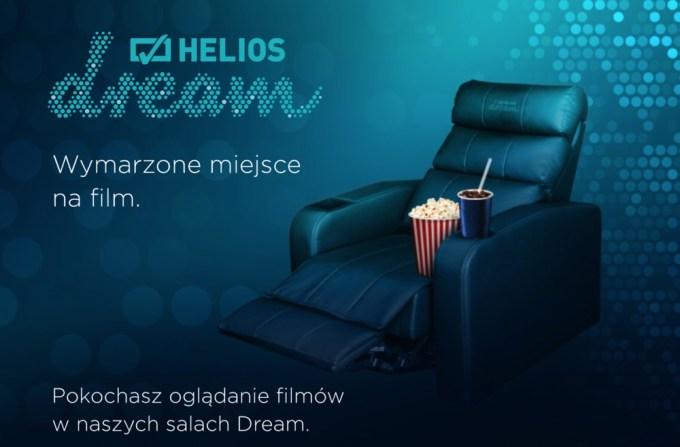 Helios Dream - kreacja reklamowa, wykorzystywana w kampanii